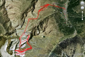 Route als Google Earth Ansicht